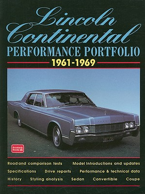 Lincoln Continental 1961-1969 Performance Portfolio By Clarke, R. M.